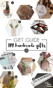 DIY Handmade Christmas Gifts   DIY Handmade Christmas Gift Guide   Christmas Craft Ideas   What to make for Christmas Gifts   DIY Christmas Gifts   DIY Christmas Presents