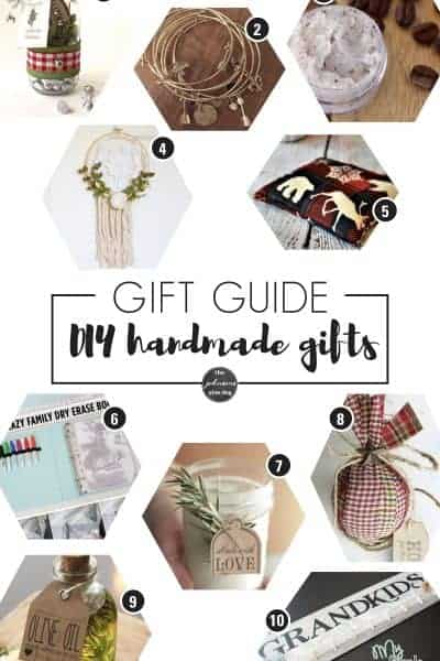 DIY Handmade Christmas Gift Guide