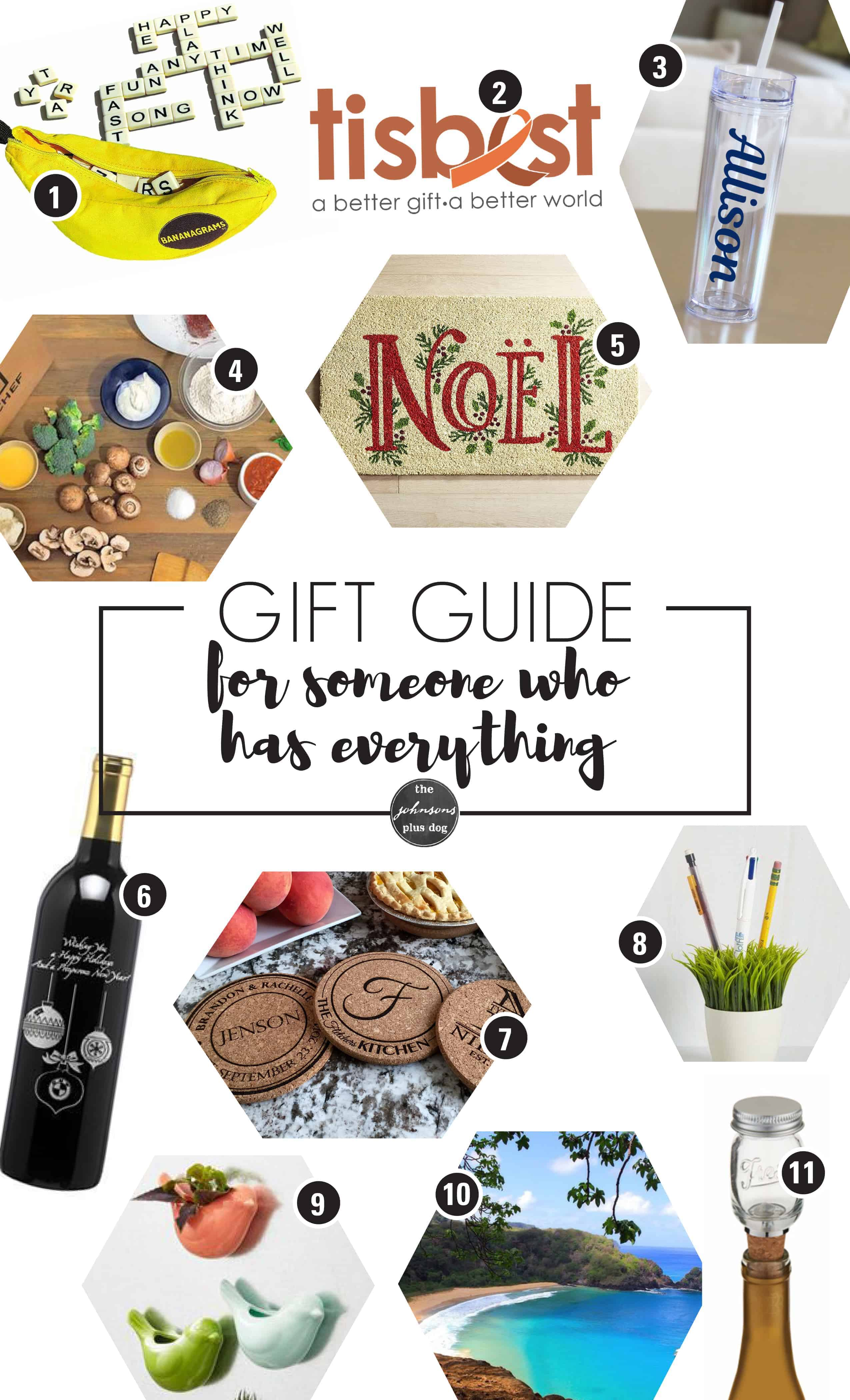 What To Buy For Someone Who Has Everything