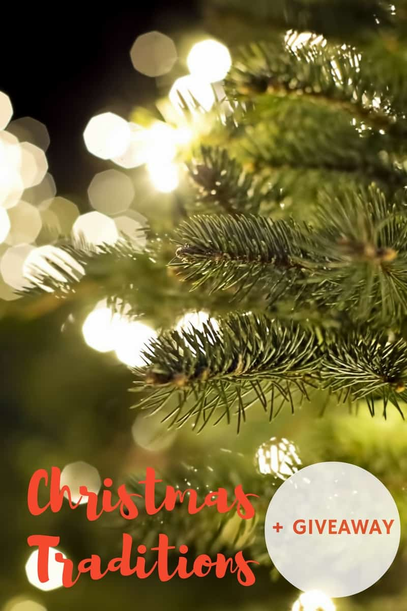 Christmas Traditions + December to Remember Giveaway!