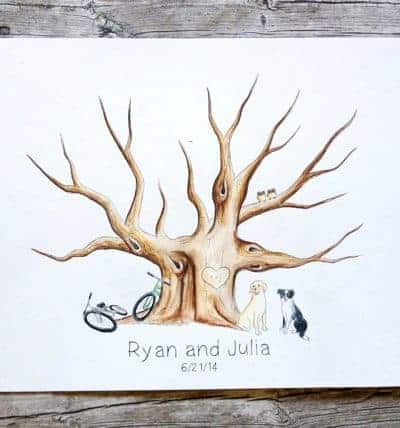 Unique Guest Book Alternatives For Your Wedding