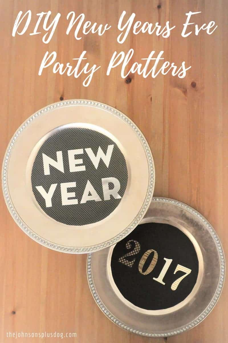 DIY New Years Eve Party Platters {Guest Post}