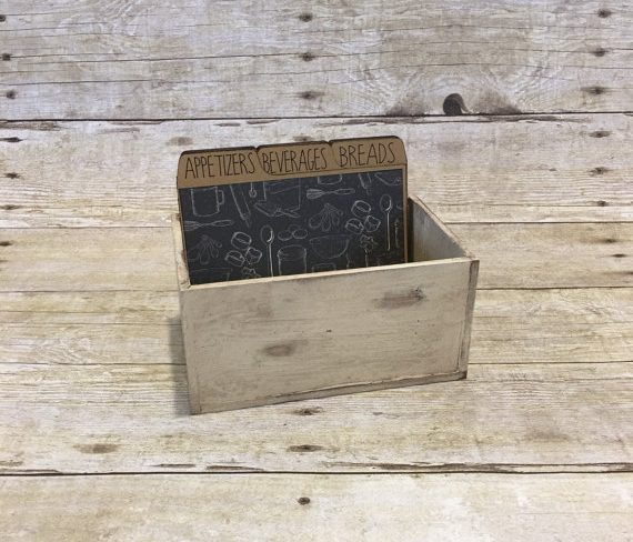 Recipe box from Gertie's Attic 44