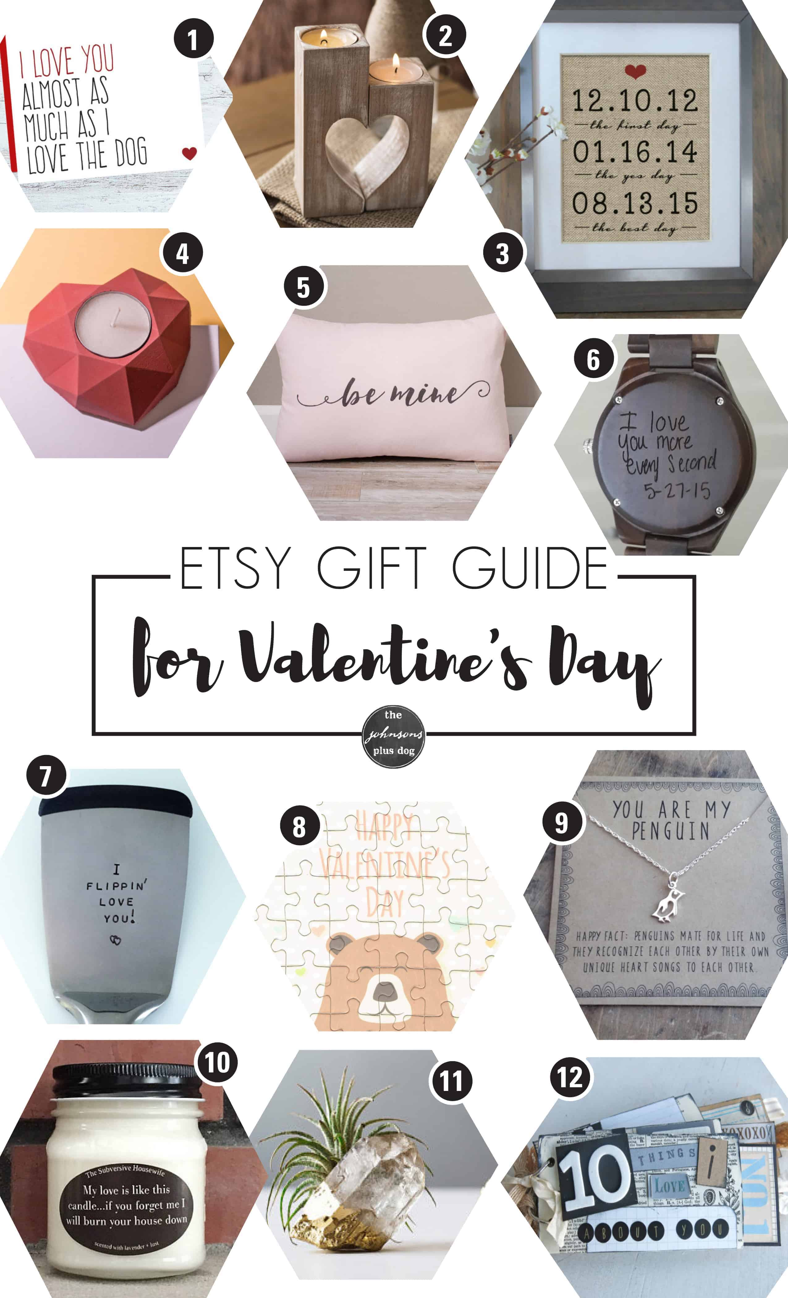 Unique Valentine's Day Gifts from Etsy
