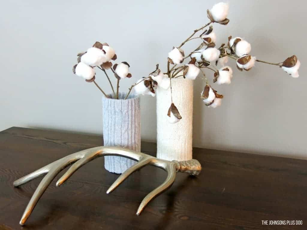 sweater vase by making manzanita