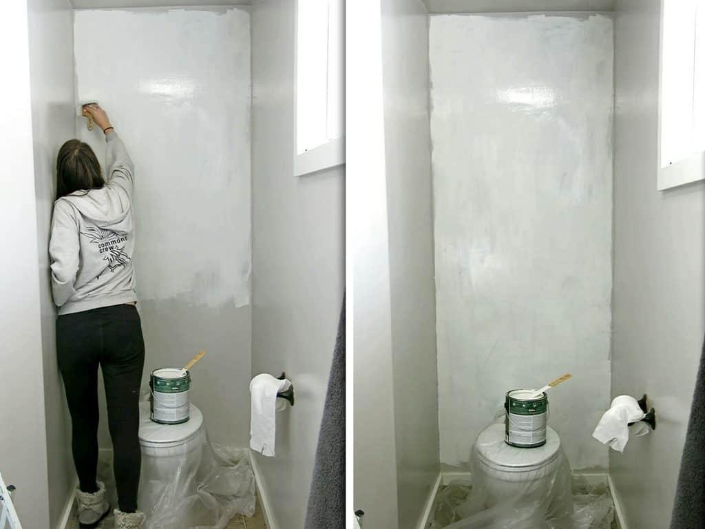 How To Install A Faux Shiplap Wall Making Manzanita