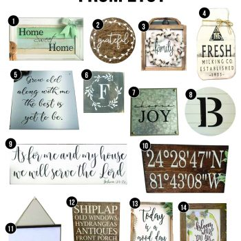 Farmhouse Signs from Etsy | Fixer Upper Style Signs | Farmhouse Style Wall Decor | Signs from Etsy | Reclaimed Wood Signs | Shiplap Signs | Metal Sign for Home | Scroll Sign | Farmhouse Sign | Signs with Fixer Upper Style | Signs with Farmhouse Style | Buying Farmhouse Decor for Etsy