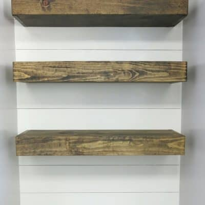 How To Build Bathroom Floating Shelves