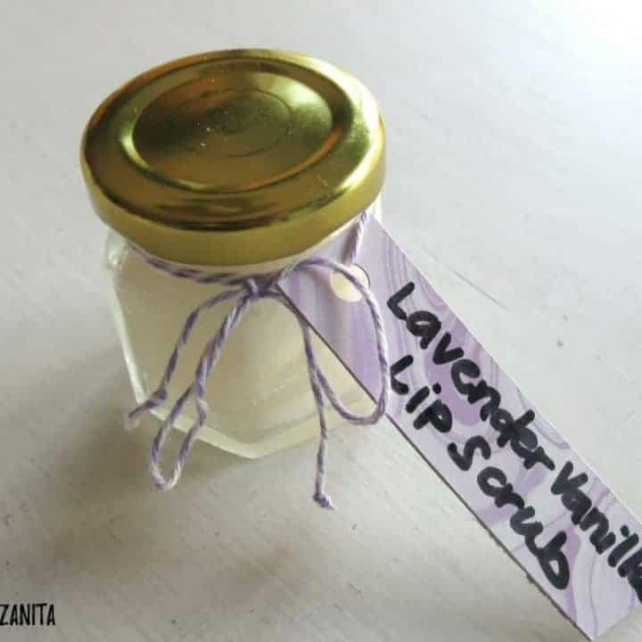 How to Make DIY Lavender Vanilla Lip Scrub