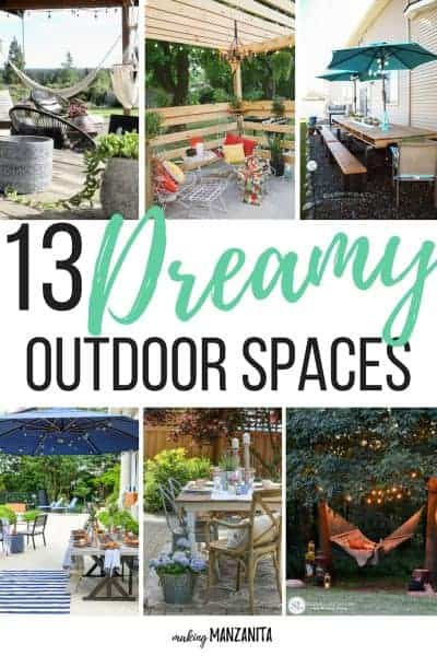 13 Dreamy Outdoor Spaces