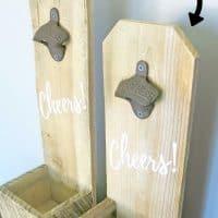 DIY Reclaimed Wood Bottle Openers from Making Manzanita