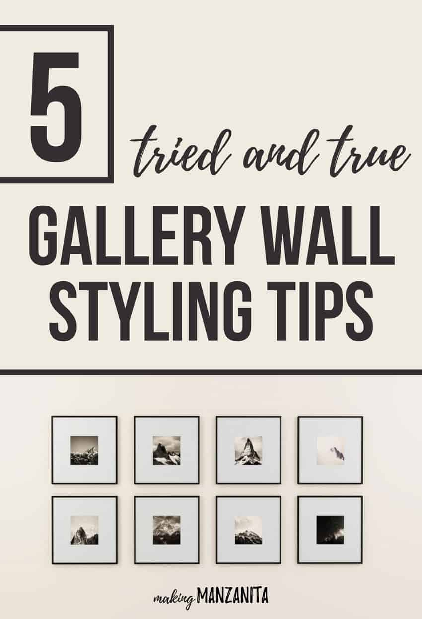 5 Tried and True Gallery Wall Styling Tips | Gallery Wall Advice | How to create your first gallery wall | How to design your own gallery wall | Wall art | How to decorate with gallery wall | Gallery wall ideas | Gallery wall guide | Cost Plus World Market