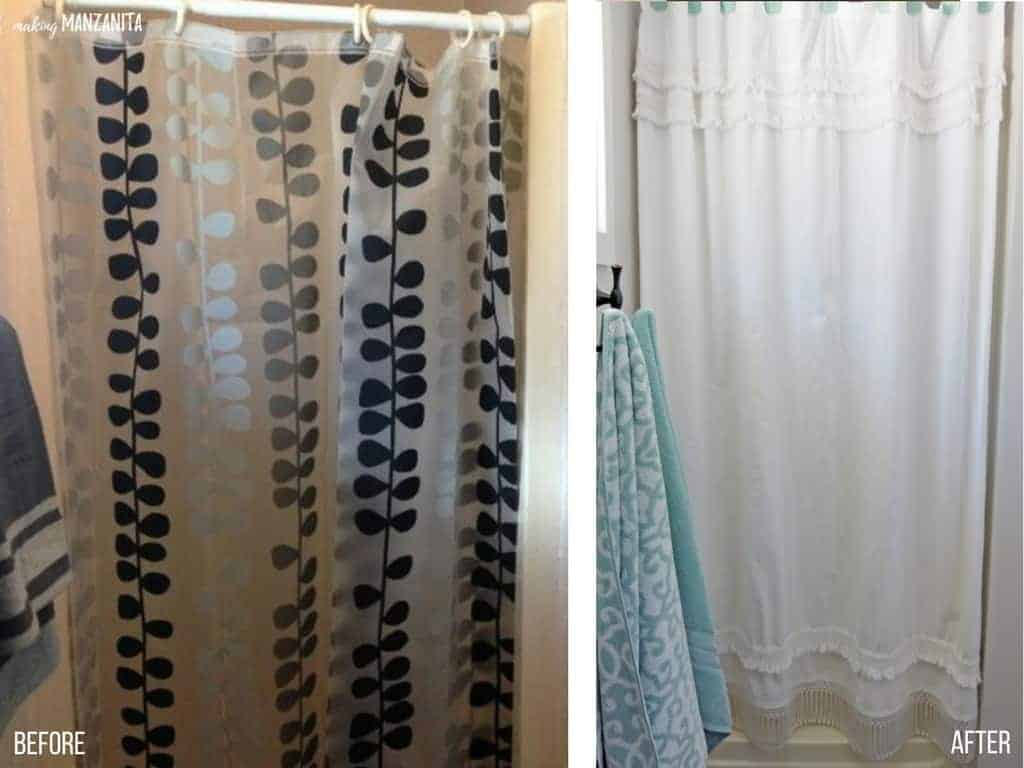 Before and After | Light and Bright Bathroom with Farmhouse Style