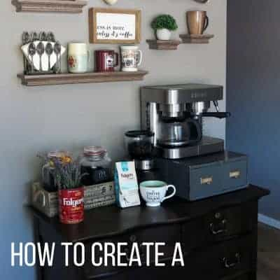 How to Create a DIY Coffee Station at Home