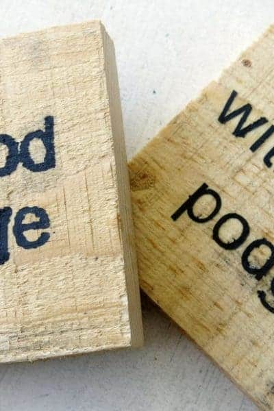 Stencils for Wood Signs: How To Prevent Bleeding Under Stencil