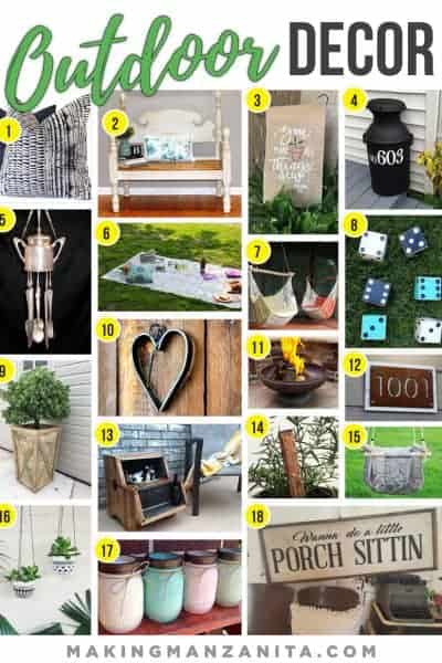 Outdoor Decor from Etsy To Decorate Your Yard For Summer