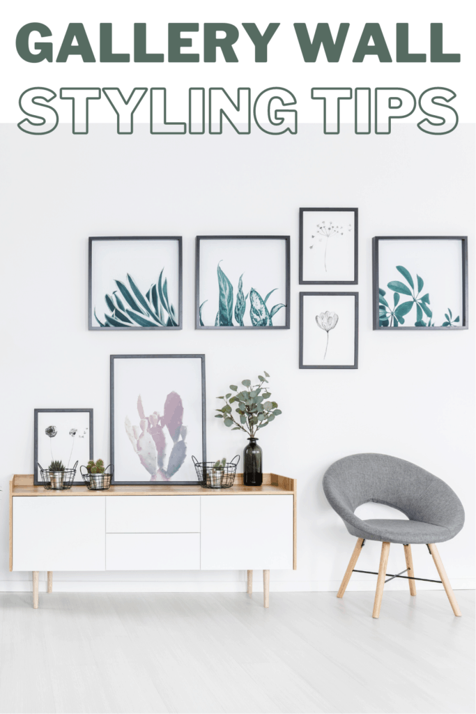 Confused on how to decorate your walls? Don't miss these tired and true gallery wall styling tips and see the boho farmhouse gallery wall ideas.