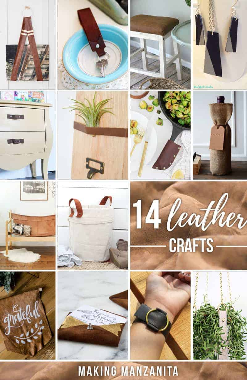 How To Get Free Leather For Crafts And 14 Leather Craft Ideas