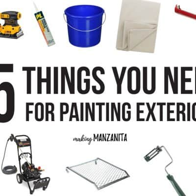 15 Things You Need For Painting Exterior of House