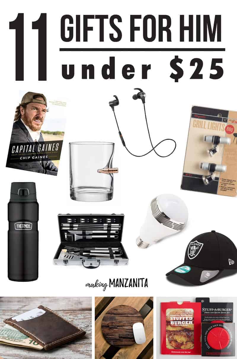 11 Gifts For Him Under 25 Making Manzanita: unique uni gifts under 25