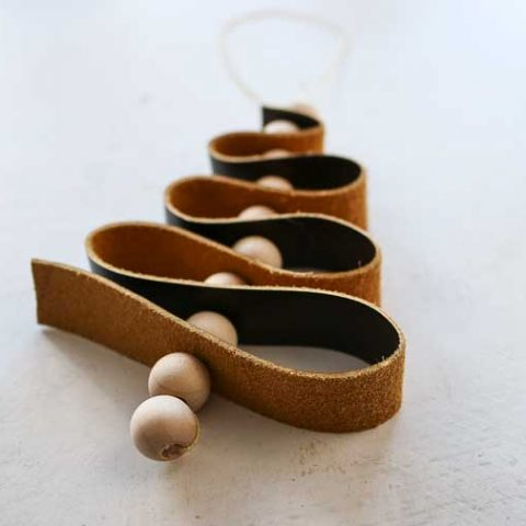 How To Make DIY Leather Ornaments