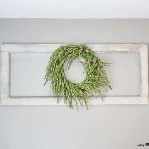 How To Make DIY Farmhouse Wreath