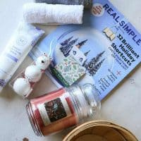 Relaxing Bath Gift Basket with Free Printable Tags from Making Manzanita