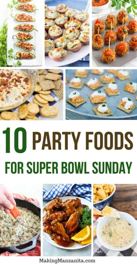 Looking to host a super bowl party? Try some of these creative recipes for super bowl food ideas!