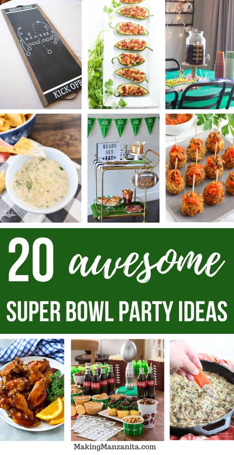 If you're planning a Super Bowl party this year, hopefully these awesome Super Bowl party decorations and food ideas will inspire you.