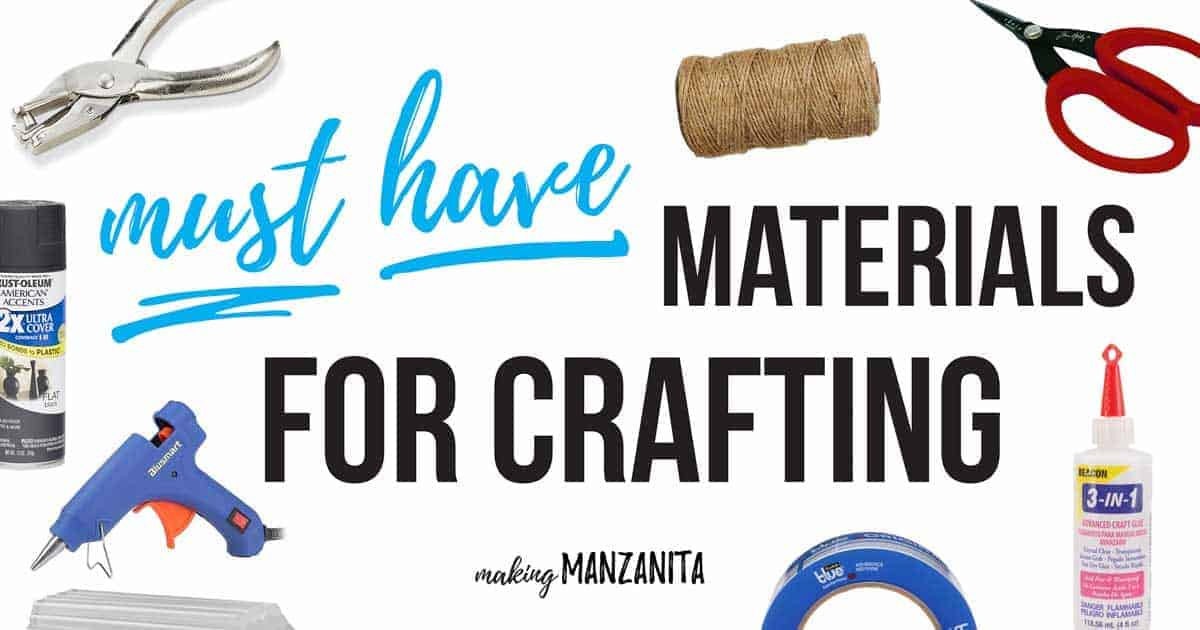 Must have materials for crafting | Craft materials you should always keep on hand