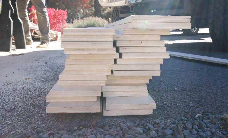 How To Make A Shiplap Wall With Plywood Making Manzanita