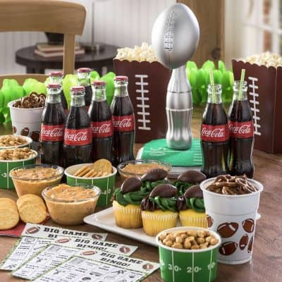 Delicious Super Bowl Recipes & Creative Super Bowl Decorations