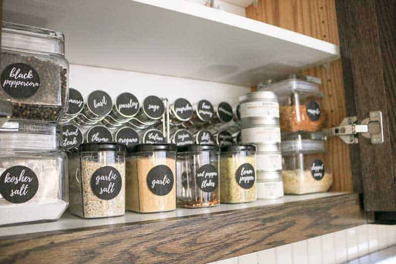 Spice cabinet organization ideas and inspiration | How to organize your spices #ad