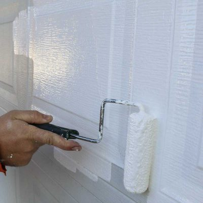 Easy Way To Instantly Improve Curb Appeal – Painting Garage Door