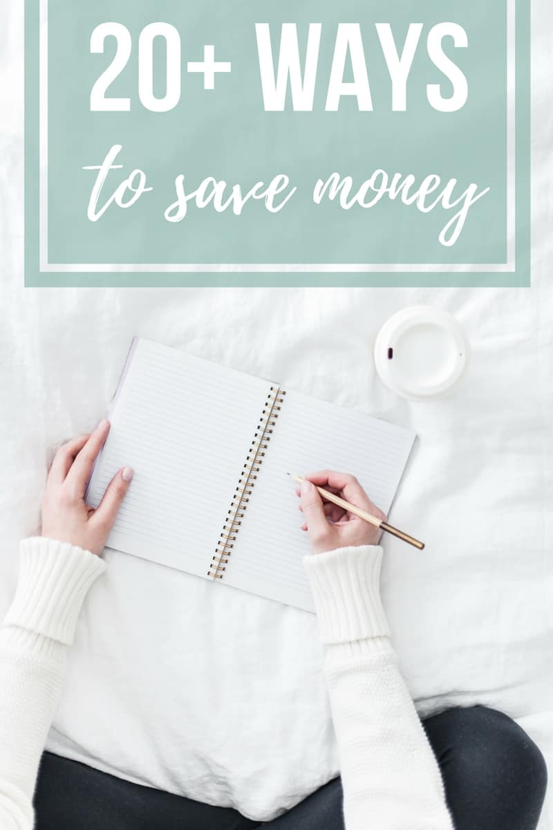 Are you saving for a house deposit? When you're trying to save to buy a house, it can feel so daunting and overwhelming. Here's 20+ ways you can save more money to put in your piggy bank. If you're serious about saving money, you're going to love these frugal living tips!