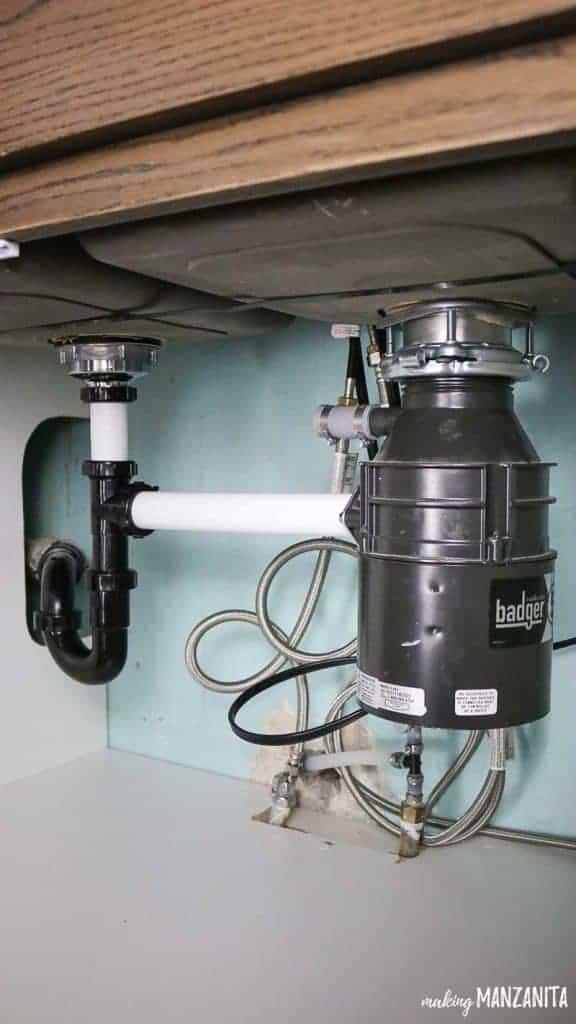 How To Install A Badger Garbage Disposal Making Manzanita