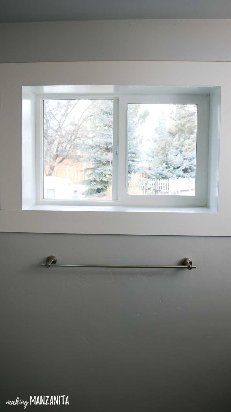 How To Add Privacy To A Bathroom Window With A Frosted Window Film !