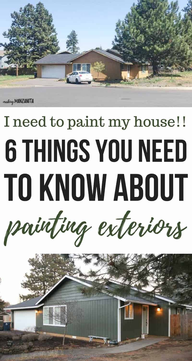 i need to paint my house exterior answers to your paint