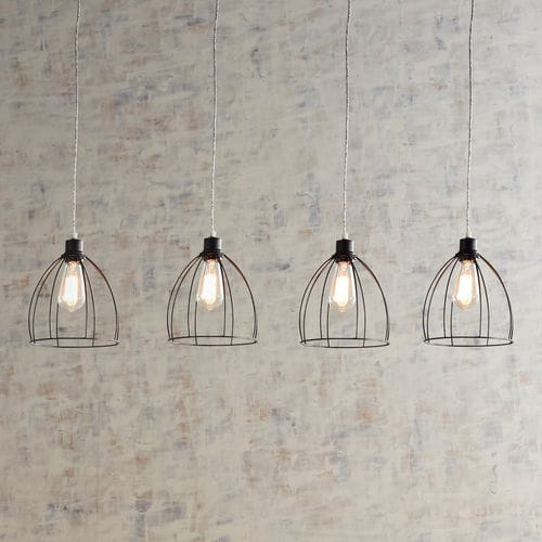 Wire 4-Light Linear Chandelier from Pier 1 Imports