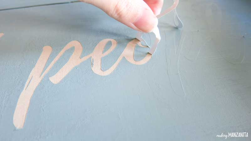 Stencils for painted farmhouse signs