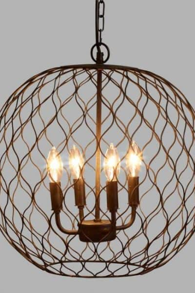 10 Rustic Chandeliers Under $200 with Farmhouse Style