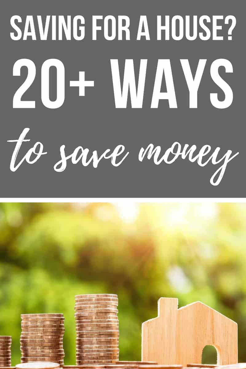 20+ simple frugal living tips for saving for a house deposit | Creative awesome ideas and tips when saving up for house | How to live on a budget