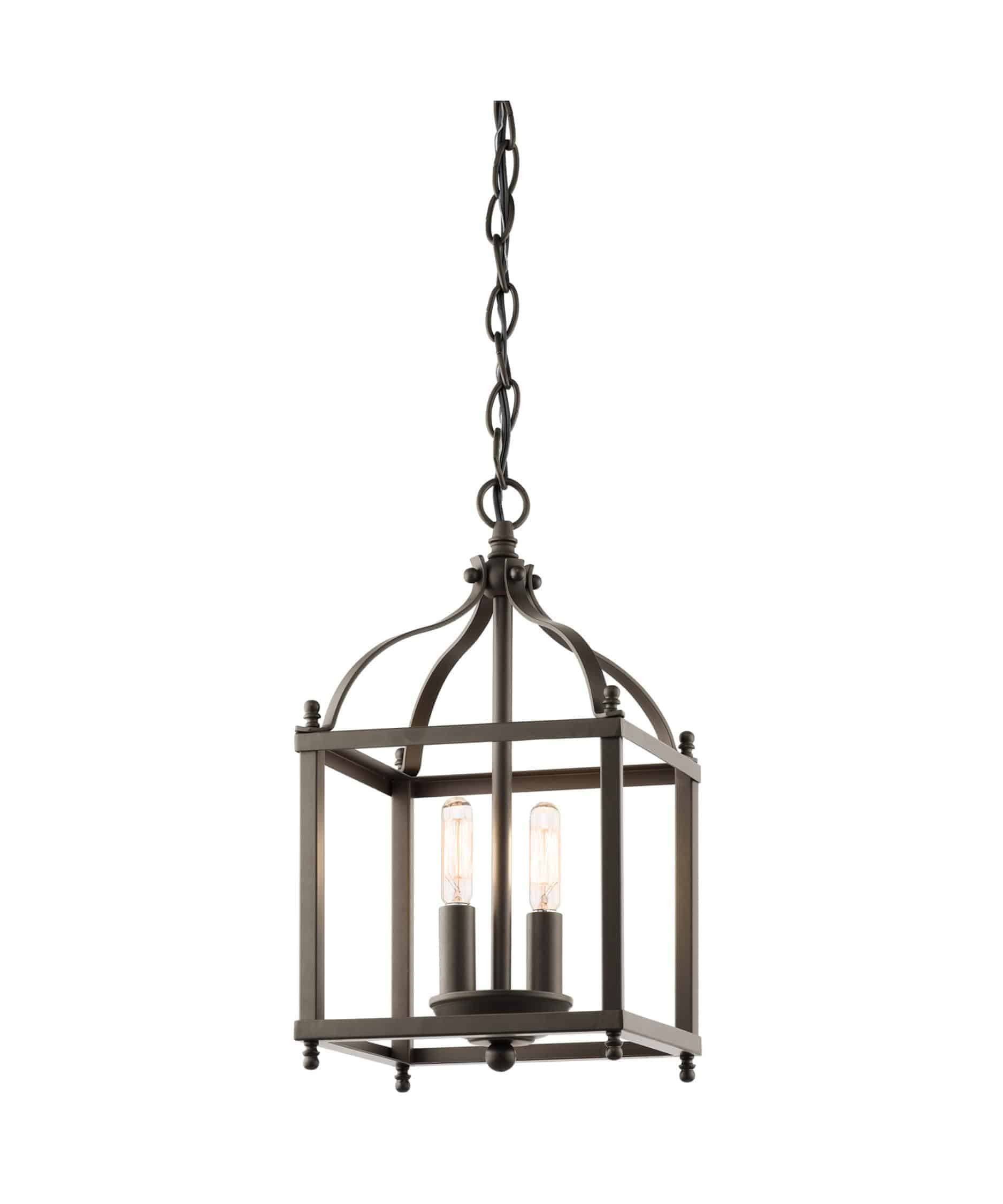 Kichler 42565 Larkin 8 Inch Wide 2 Light Mini Chandelier from 1 800 Lighting