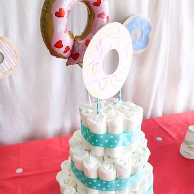 Baby Diaper Cake Tutorial For Diaper Shower