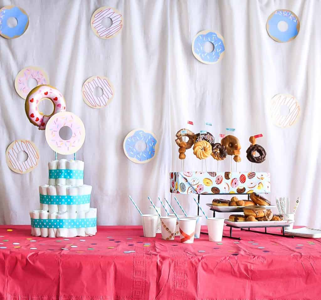 Donut Themed Baby Sprinkle Shower With Free Printable