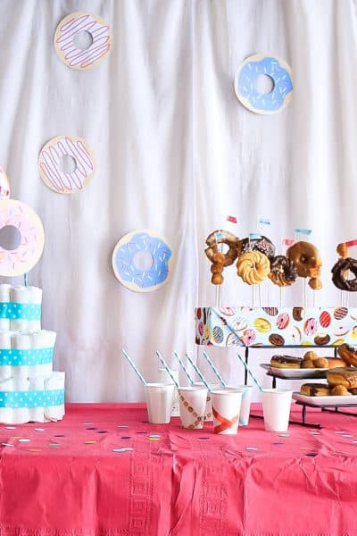 Donut Themed Baby Sprinkle Shower (and Free Printable Donuts)