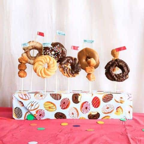 How To Make A Donut Stand
