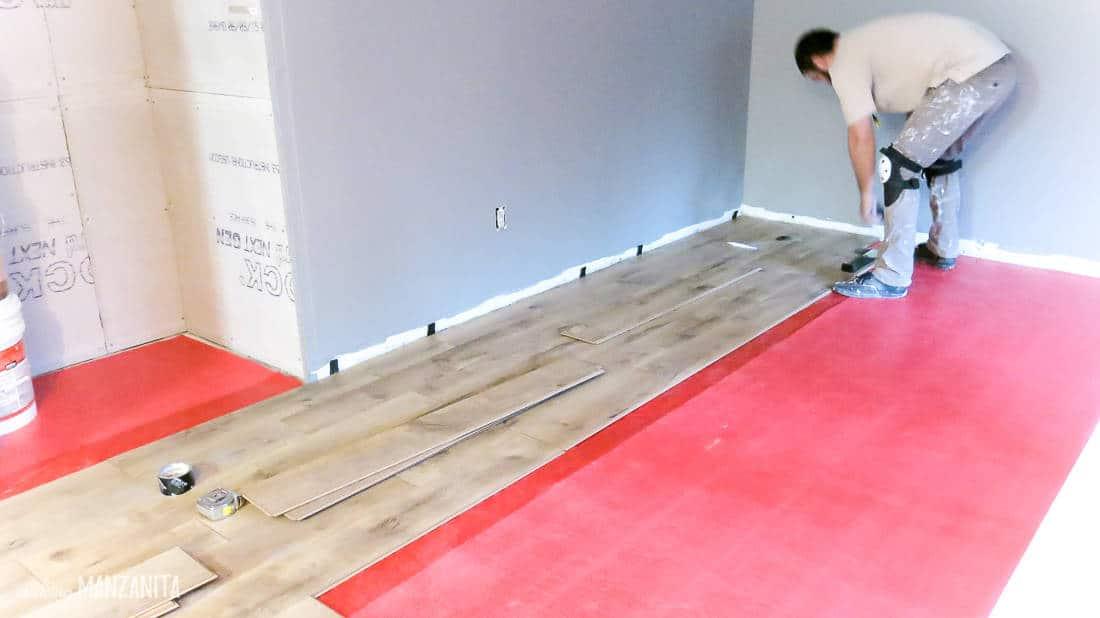 Installing Camden Oak by Harmonics laminate flooring