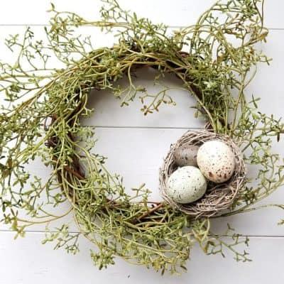 Budget Friendly Farmhouse Springtime Decorations
