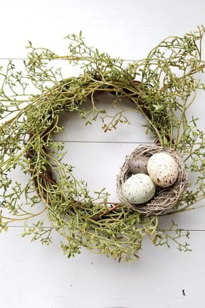 Budget Friendly Farmhouse Springtime Decorations
